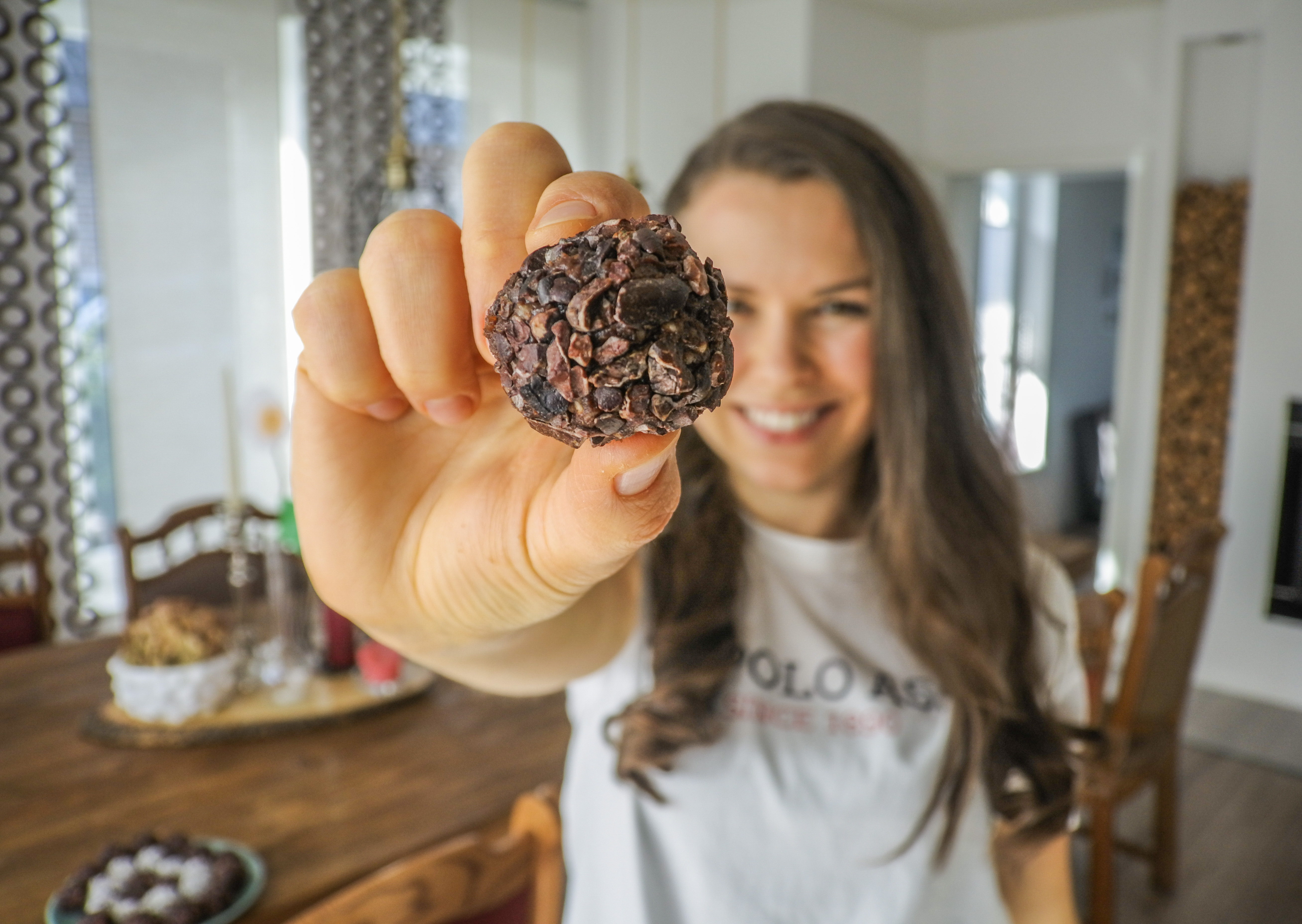 Chocolate Bliss Balls, fast & easy