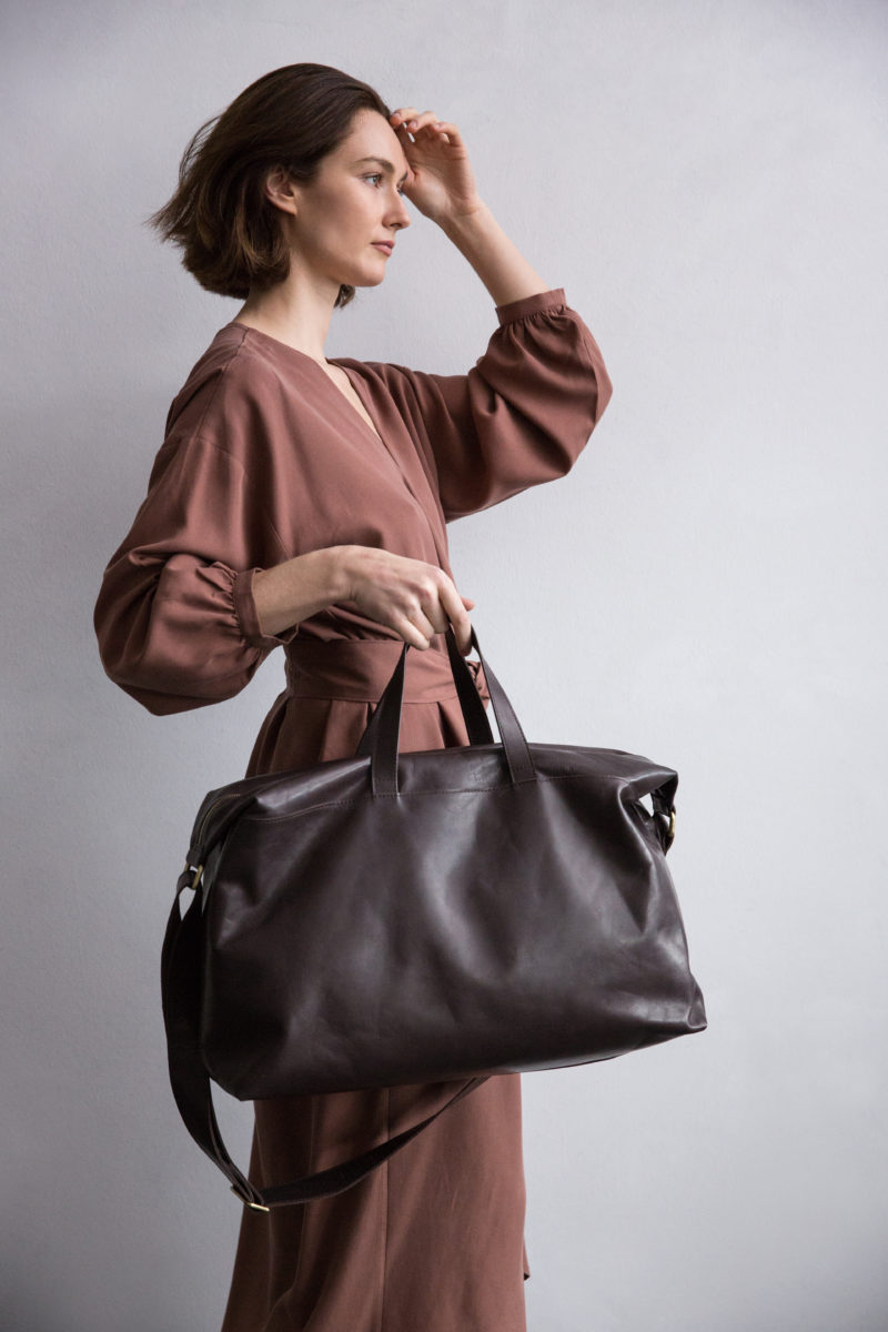 Sleek, Simple, Sustainable Leather Bags