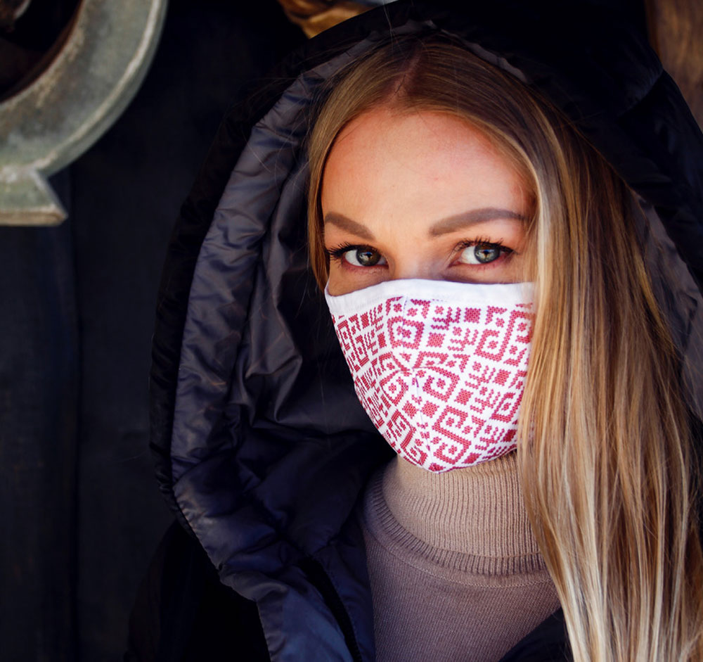 Sustainable Face Masks From Ocean Waste