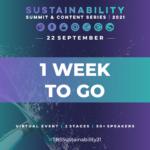 1 week left until TBS Sustainability 21